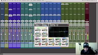 How to Mix Rap Vocals On Pro-Tools 9, 10, 11 with Factory Plugins
