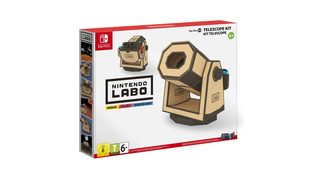 Nintendo Labo Toy-con Telescope [Fanmade]
