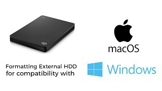 Format An External Hard Drive For Use With Mac & Windows