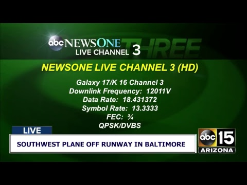 NOW: Southwest plane skids off runway in Baltimore