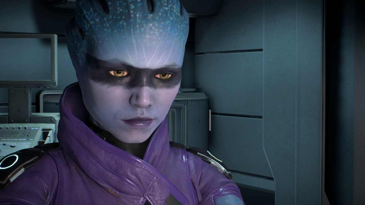 Mass Effect Andromeda Build Relationship with Asari Peebee