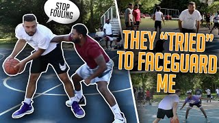 Trash Talkers Were PHYSICALLY Face Guarding Me & They Got EXPOSED!