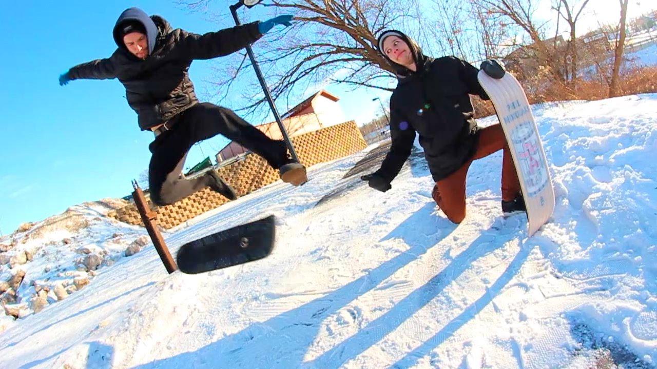 SNOWSKATE GAME OF S.K.A.T.E!