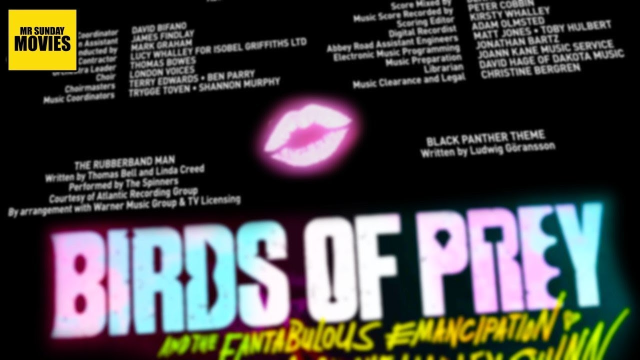 Birds Of Prey Post Credits Ending Explained Youtube
