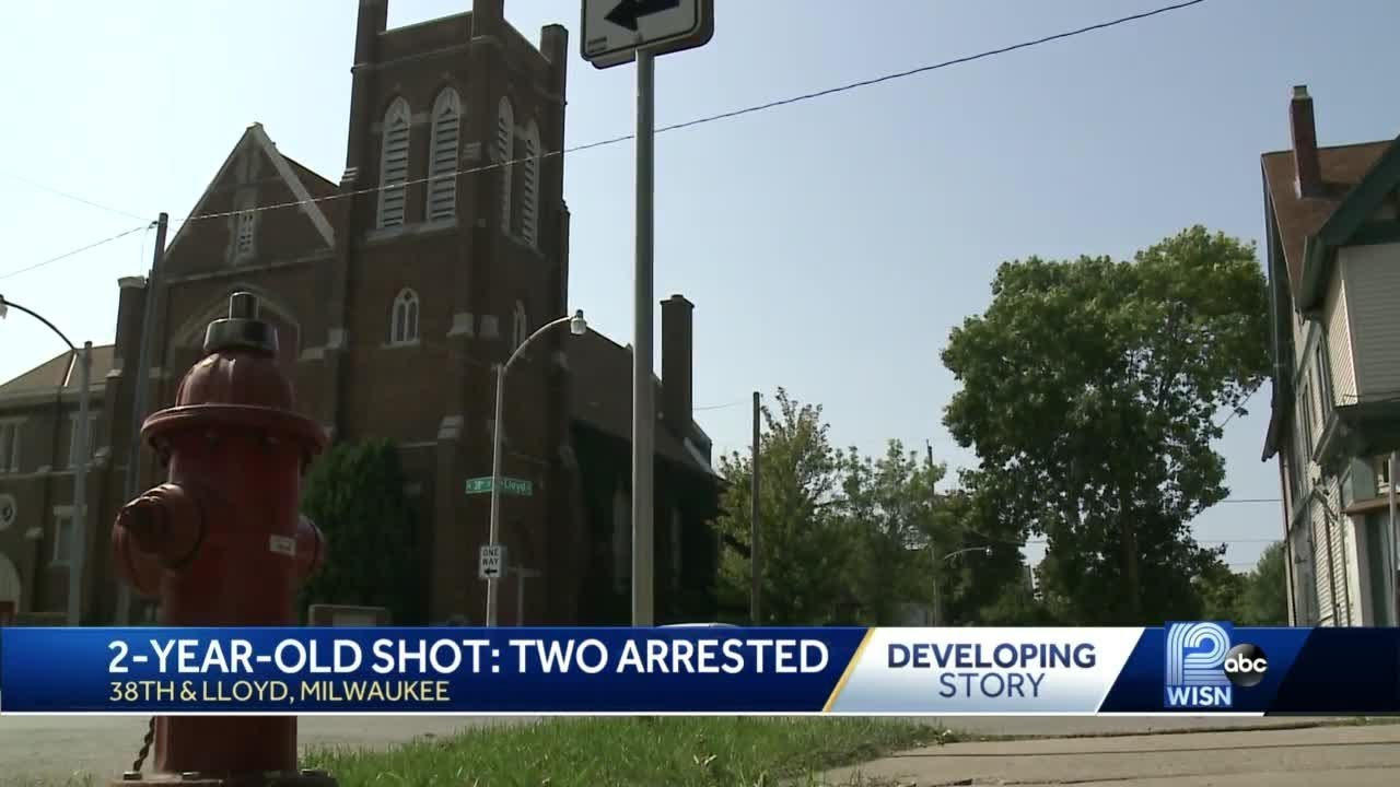 2 arrested in shooting of 2-year-old boy