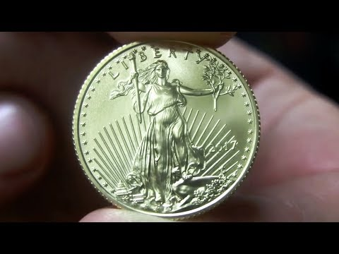 Unboxing 2017 1/4oz Gold American Eagle