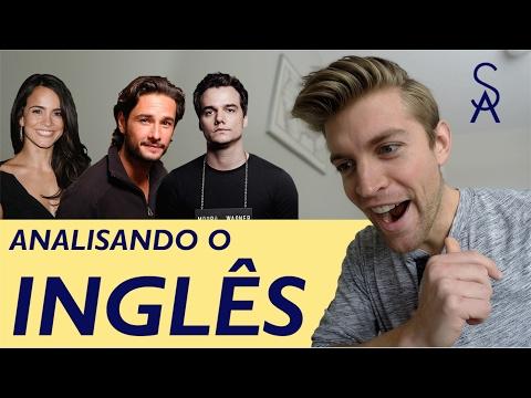 O inglês de atores brasileiros – FALAM BEM?