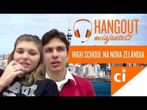 High School na Nova Zelândia | Hangout #ViajanteCI