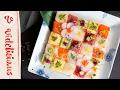 食べられるアート♡華やかなモザイク寿司のつくり方|How to make Mosaic Sushi