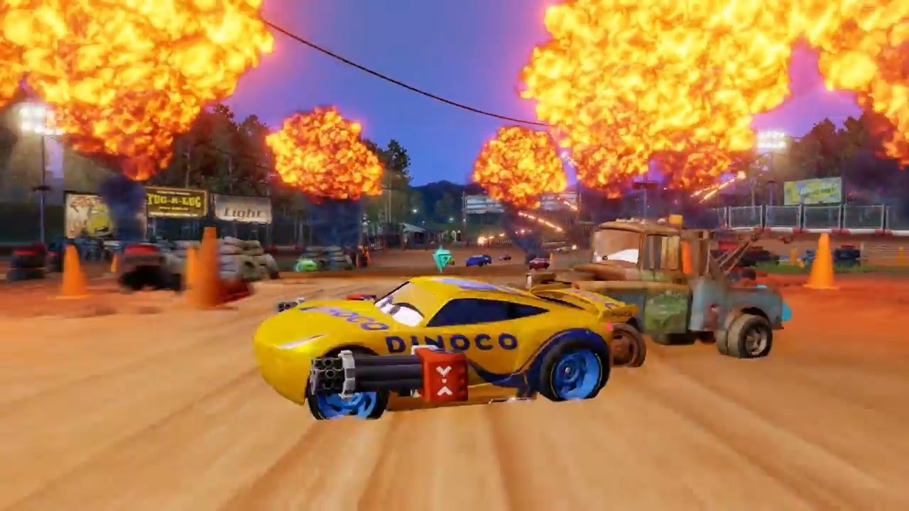 Cars 3 Driven To Win First Look 2017 Game Trailer Ps4 Ps3 With