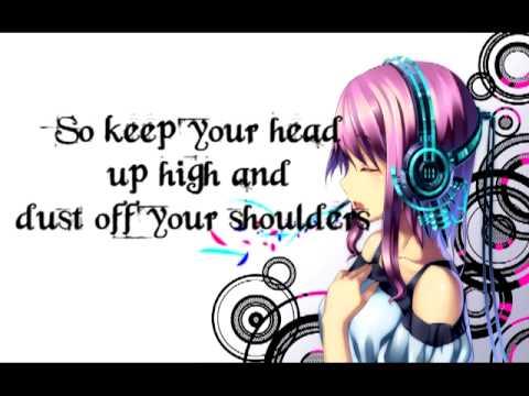 Girl In Headphones Wallpaper Nightcore Headphones Lyrics Youtube