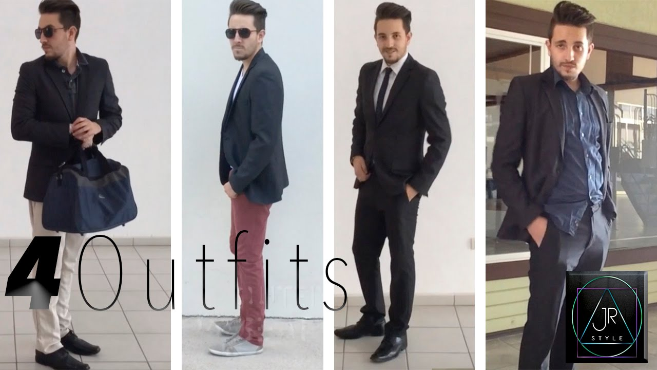 1 BLAZER 4 OUTFITS MODA I JR STYLE - YouTube 0cc488b184e
