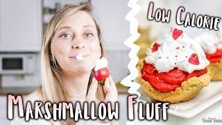 Low Calorie MARSHMALLOW FLUFF | #fooxfluff