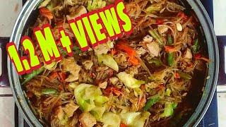 Download lagu Pancit Sotanghon Guisado | Stir-fry Vermicelli Noodles
