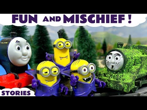 Thomas and Friends Pranks and Mischief with Minions & Lion Guard | Family Fun Playing with Toys TT4U