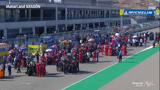 LIVE 📡 It's #MotoGP race time at the #AragonGP! 🏁