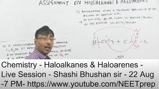 halo alkane preparation methods