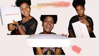 Unboxing New 13' 2020 MacBook Air [Gold] + Magic Mouse 2