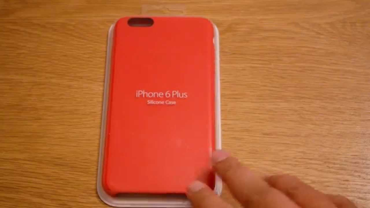 cheaper 6aec6 6dde1 Official Product RED iPhone 6 Plus Silicon case