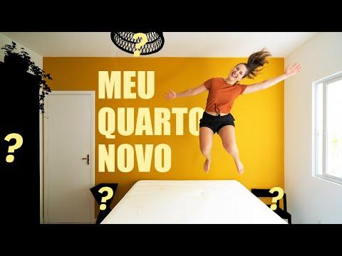 COMEÇOU A NOVA REFORMA DO MEU QUARTO!!!