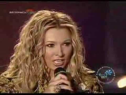 Angelica Agurbash great Belarusian singer.