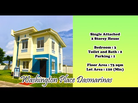 House for Sale in Cavite - Wharton at Washington Place Dasmarinas Cavite