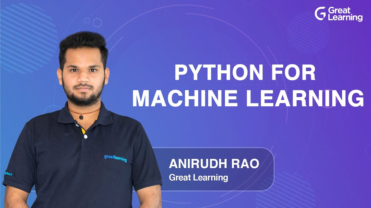Python for Machine Learning | Machine Learning for Beginners in 2021