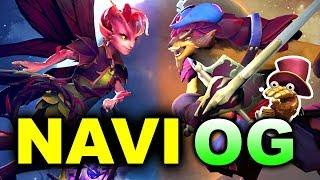 NAVI vs OG - Crazy MIDAS MODE! - Pangolier vs Willow DOTA 2