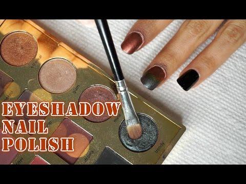 MUST TRY!!! : DIY Eye shadow Nail Polish