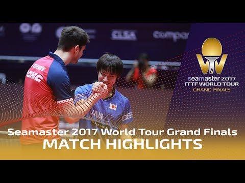 2017 World Tour Grand Finals Highlights: Dimitrij Ovtcharov vs Koki Niwa (R16)