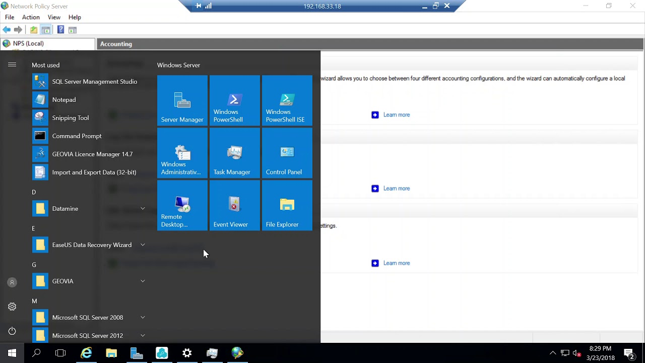 Radius authentication setup for Unifi AP