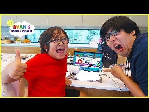 Ryan Spill Milk on Daddys MacBook Pro...
