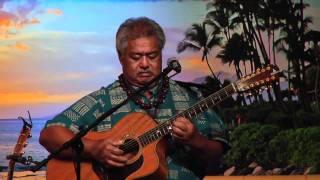 """Molokai Slide"" @SlackKeyShow George Kahumoku Jr Hawaiian Slack Key Guitar Master"