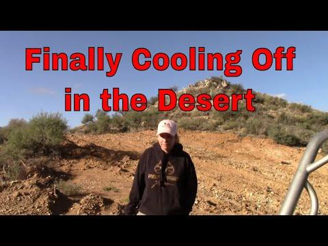 October In The Arizona Desert, Prospecting, Exploring, Rockhounding