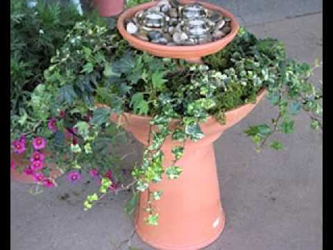Simple DIY garden decorations ideas - Decorations Style Ideas - YouTube