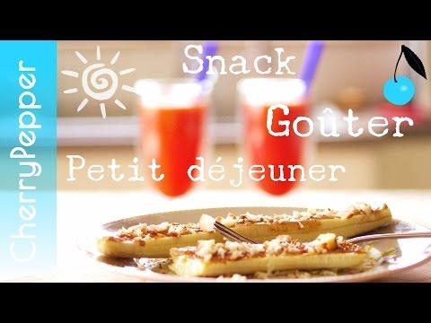 Petit déjeuner ou snack gourmand, énergisant, healthy, végane - Mon option préférée