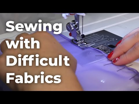 Beginner's Guide to Sewing Difficult Fabric (Episode 11)