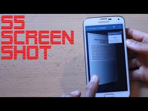 How To Take Screenshot Galaxy S5