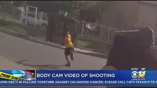 Fort Worth Police Body Cam Vid Shows Teen Pointing Gun At Officers
