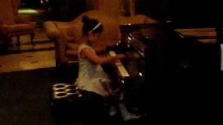 7yo Arielle Lu performing Chopin's Waltz Op 64 No2 at Steinway Hall, NYC