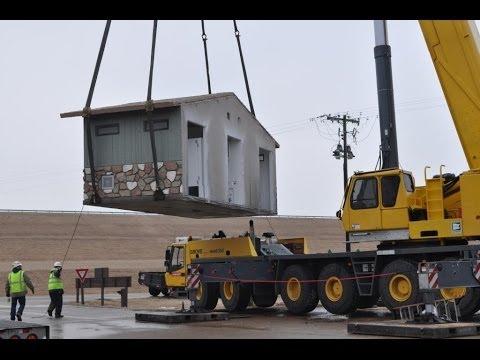CXT Concrete Building Installation Video