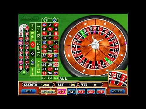 00 roulette wheel layout
