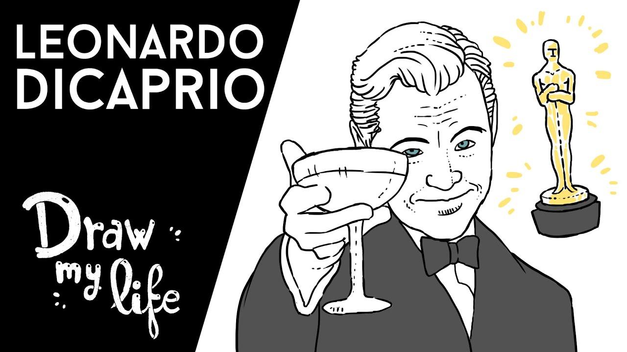 LEONARDO DICAPRIO - Draw My Life