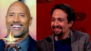 Lin-Manuel Miranda On Writing Moana For Dwayne Johnson | The Graham Norton Show