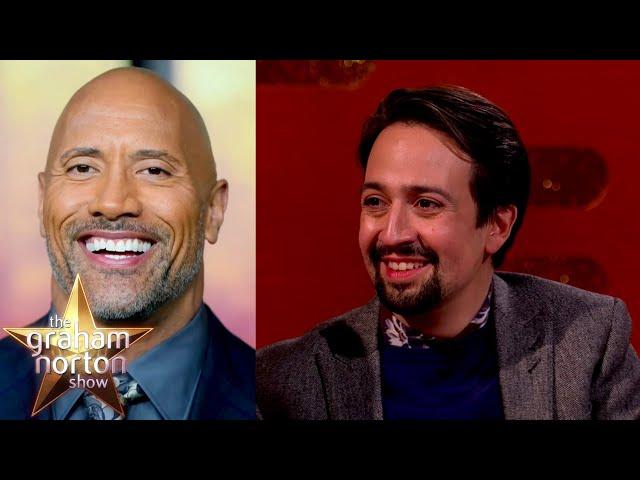 Lin-Manuel Miranda On Writing Moana For Dwayne Johnson | The Graham Norton Show