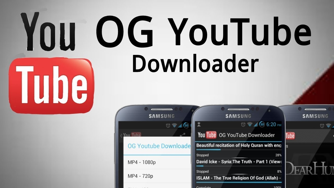 How To Download OG Youtube Android [No Root]