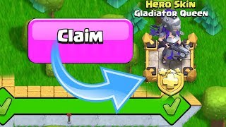 """NEW SKIN UNLOCKED!!! """"Clash Of Clans"""" Gladiator Queen is here!"""