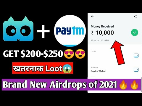 😱😱Free ₹15,650 Instant Paytm Cash || Earn Money Online || New Airdrops 2021