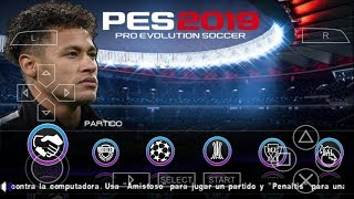 PES 2019 PPSSPP Android Offline 900MB Best Graphics New Kits & Transfers Upd