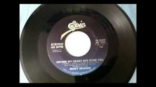 Crying My Heart Out Over You , Ricky Scaggs , 1981 Vinyl 45RPM